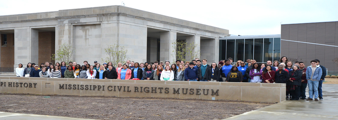 Mississippi chapters attending the civil rights museum in Jackson, MS